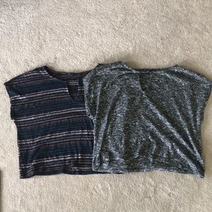 American Eagle Lightly Cropped Shirts